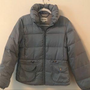 Calvin Klein Puffy Coat - Size 6